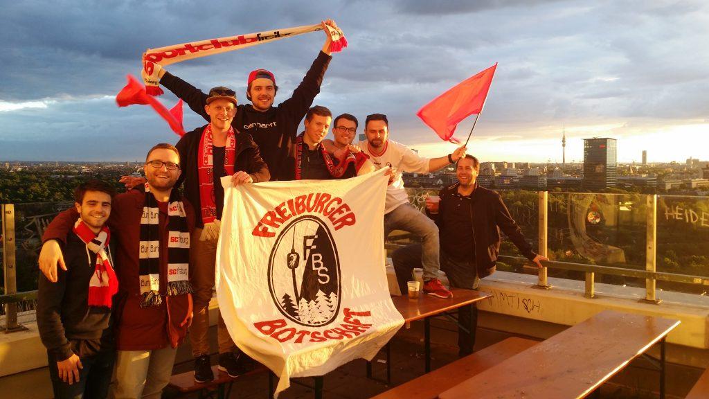 SC Freiburg Fanclub Freiburger Botschaft zu Stuttgart - Auswärts unterwegs